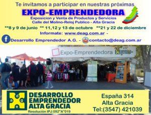 Expo en Calle del Molino-Tajamar Alta Gracia